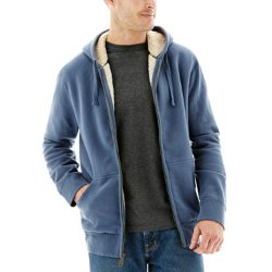 Sanded Sherpa Lined Hooded Jacket by Dickies in The Boy Next Door