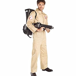Ghostbusters Costume With Inflatable Backpack by Rubies in Stranger Things