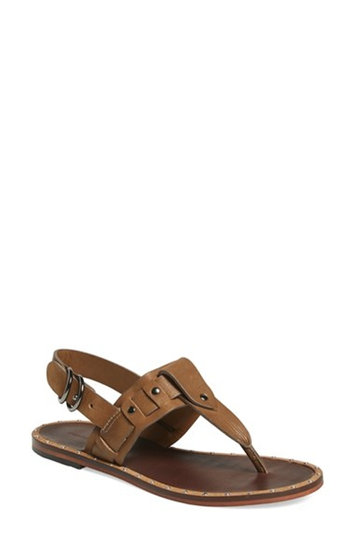 'Hale' Flat Thong Sandal by Treasure&bond in Tammy