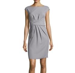 Tech Cady Tie-Waist Dress by Armani Collezioni in The Flash