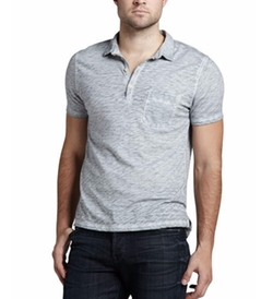 Slub Polo Shirt by 7 For All Mankind in Jane the Virgin