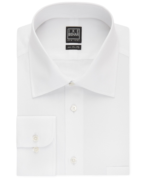 Solid Dress Shirt by Ike Behar in Life