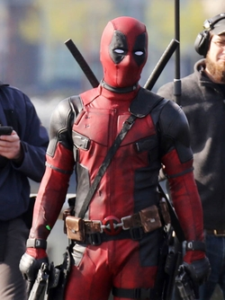 Custom Made Deadpool Suit (Wade Wilson / Deadpool) by Angus Strathie (Costume Designer) in Deadpool