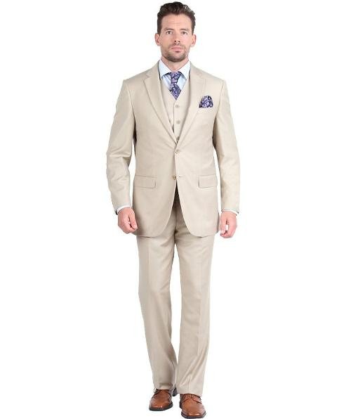 Mens Suit 2 Button 3 Piece Modern Fit by Giorgio Fiorelli in Anchorman 2: The Legend Continues