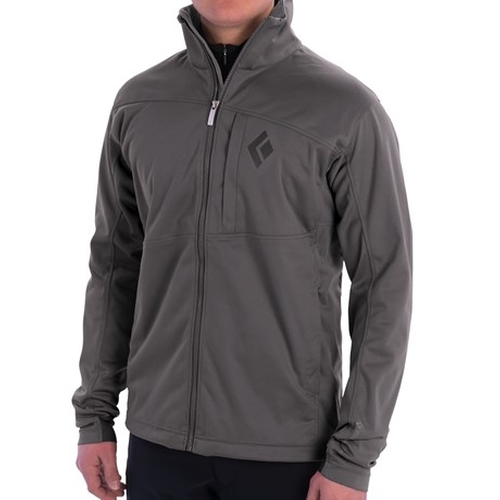 Stack Windstopper Soft Shell Jacket by Black Diamond Equipment in Miss You Already