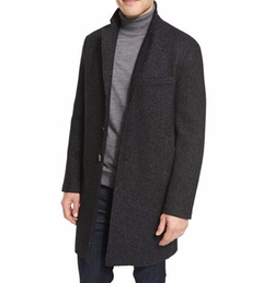 Wool-Blend Knit Crombie Coat by Michael Kors in The Flash