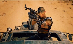 Custom Made Imperator Furiosa Costume by Jenny Beavan (Costume Designer) in Mad Max: Fury Road