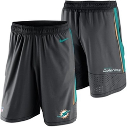 Miami Dolphins Speed Vent Performance Shorts by Nike in Ballers