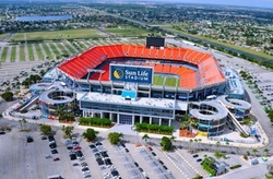 Miami Gardens, Florida by Sun Life Stadium in Ballers