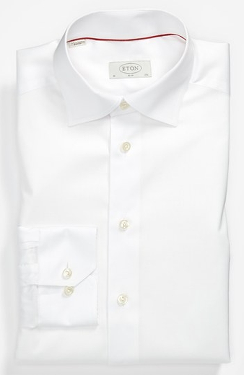 Slim Fit Dress Shirt by Eton in Suits - Season 5 Episode 8