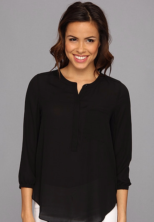Georgette Blouse by NYDJ in Chelsea - Season 1 Episode 2