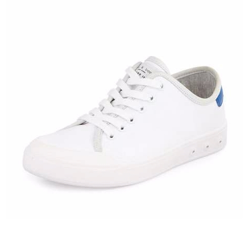 Standard Issue Canvas Lace-Up Sneakers by Rag & Bone in The Good Place