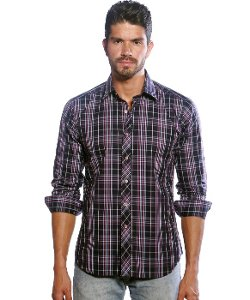 Woven Button Down Shirt by Jared Lang in Begin Again