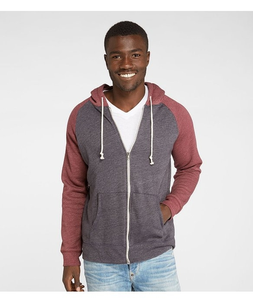 Malibu Zip Front Hoodie by Threads 4 Thought in Silicon Valley