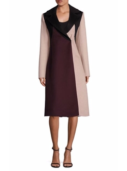 Runway Cibina Colorblock Coat by Boss in House of Cards