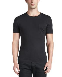 Pocket Crewneck Tee by Ralph Lauren Black Label in The Expendables 3