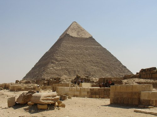 Pyramid of Khafre Giza Governorate, Egypt in Night at the Museum: Secret of the Tomb