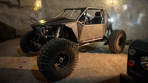 'Rock Crawler' Dakar-Style Beach Buggy Vehicle by Custom in The Man from U.N.C.L.E.