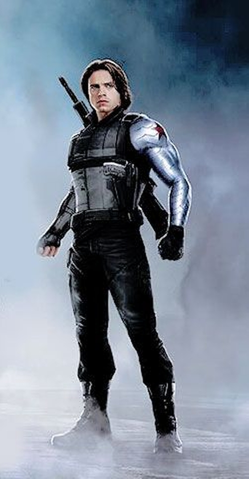 Custom Made Winter Soldier Civil War Costume by Judianna Makovsky (Costume Designer) in Captain America: Civil War
