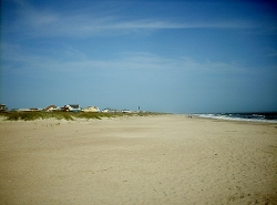 Oak Island, North Carolina by Caswell Beach in The Longest Ride