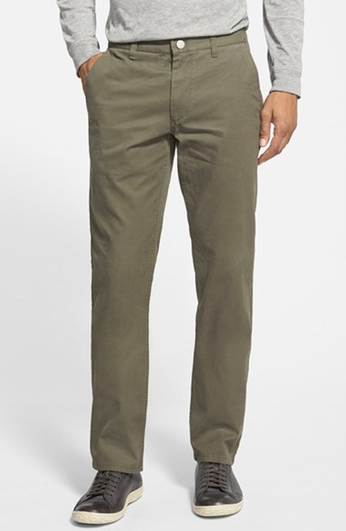Slim Fit Washed Cotton Chinos by Bonobos in 99 Homes