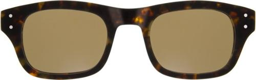 NEBB Sunglasses in Tortoise with Brown Lenses by Moscot Originals in And So It Goes