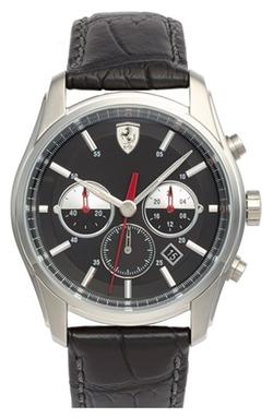 Chronograph Leather Strap Watch by Scuderia Ferrari in San Andreas