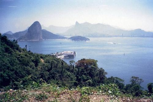 Morro Cara de Cão Rio de Janeiro, Brazil in Fast Five