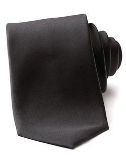 Silk Black Tie by Boss Hugo Boss in Suits