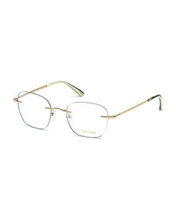 Shiny Metal Wood Effect Eyeglasses by Tom Ford in The Blacklist