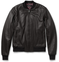 Quilted Leather Bomber Jacket by Rag & Bone in Neighbors