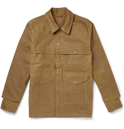 Cruiser Oiled Cotton-Canvas Field Jacket by Filson in Cut Bank