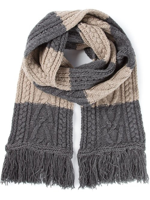 Cable Knit Scarf by Marc Jacobs in Sherlock Holmes: A Game of Shadows
