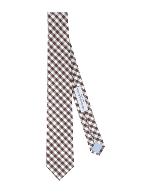 Check Design Tie by Nati Con La Camicia in Love the Coopers