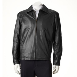 New Zealand Lamb Leather Jacket by Excelled in We Are Your Friends