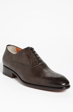 'Stafford' Cap Toe Oxford Shoes by Santoni in Mission: Impossible - Rogue Nation