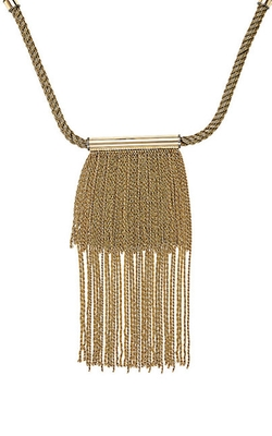 Fringe Necklace by Lanvin in Keeping Up With The Kardashians