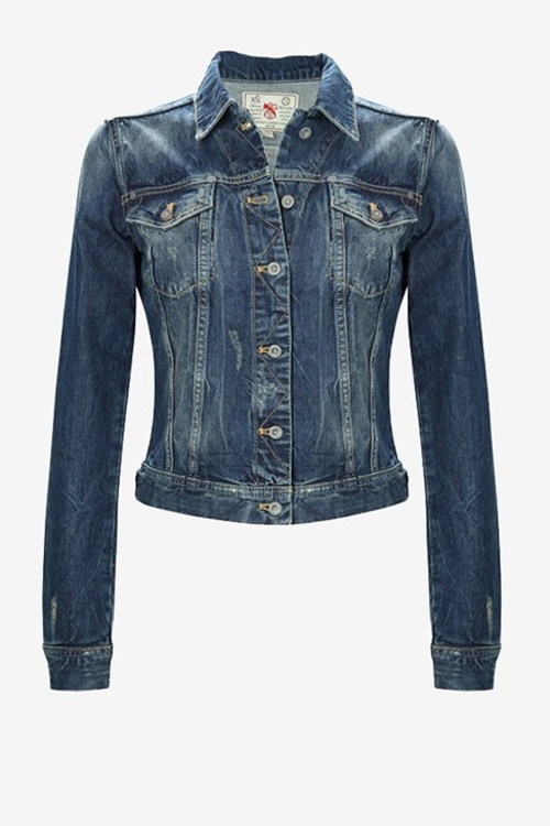 Bradley Denim Jacket by French Connection in The Longest Ride