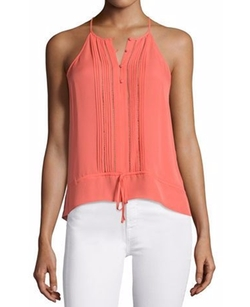 Sleeveless Waist-Tie Top by Parker Jamison in Fuller House