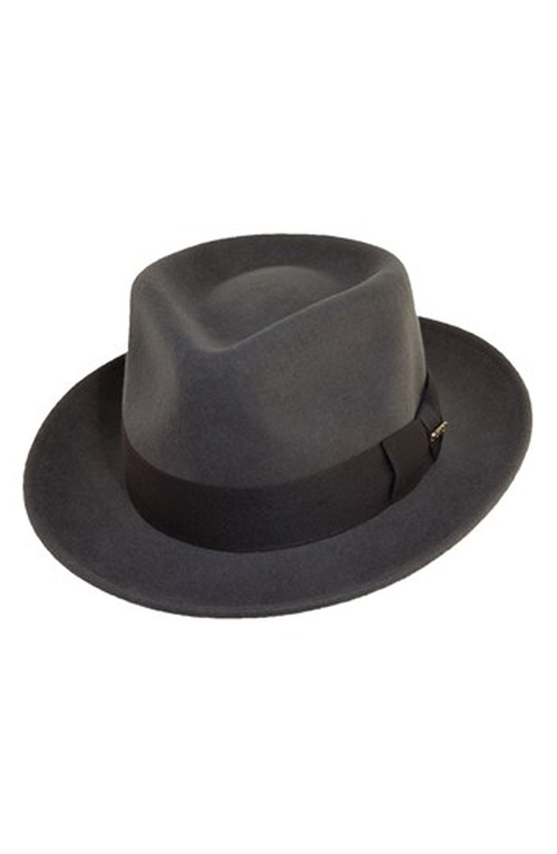 'Classico' Wool Felt Fedora Hat by Scala in Hail, Caesar!
