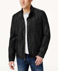 Stand Collar Field Jacket by Cole Haan in Joshy