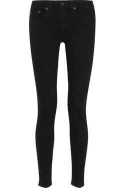 High-Rise Skinny Jeans by Rag & Bone in Jessica Jones