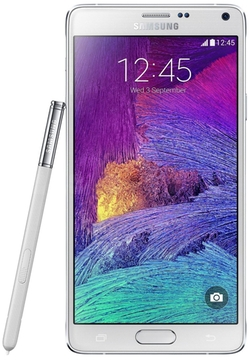 Galaxy Note 4 Smartphone by Samsung in Ballers