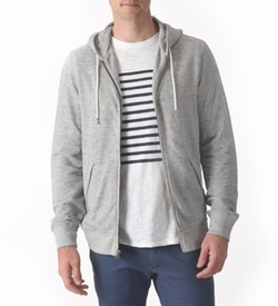 Montague Zip Hoodie by Grayers in 13 Reasons Why