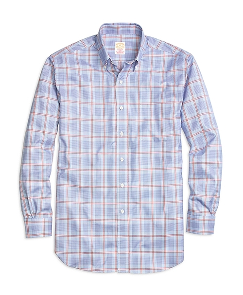 Madison Glen Plaid Sport Shirt by Golden Fleece in Rosewood - Season 1 Episode 2