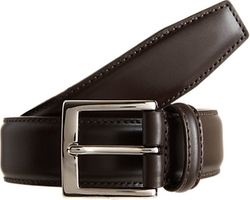 Classic Belt by Barneys New York in Ballers