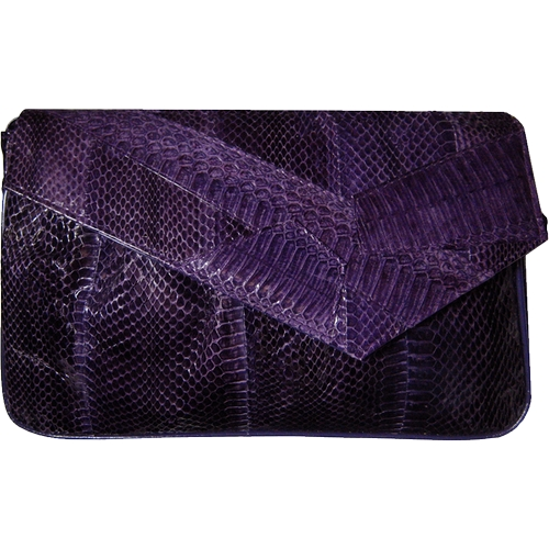 Vintage Snakeskin Clutch Bag by J. Renee in Pretty Little Liars - Season 6 Episode 10