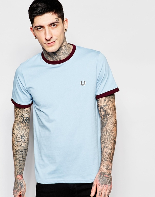 Ringer T-Shirt by Fred Perry in The Intern