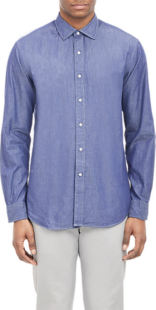 Chambray Shirt by Barneys New York in The Finest Hours