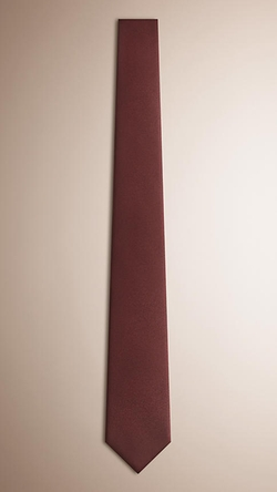Modern Cut Silk Tie by Burberry in The World is Not Enough